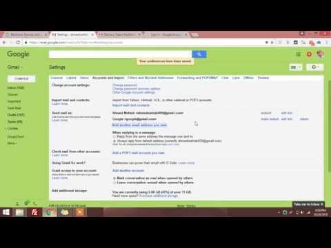 Gmail Account Hijacking vulnerability | Ahmed Mehtab