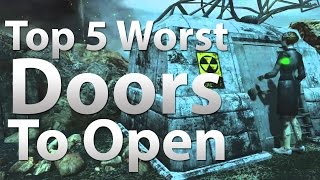 top 5 worst doors to open in call of duty zombies black ops 2 zombies bo waw