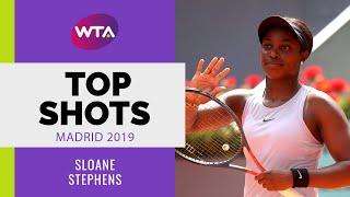 Sloane Stephens | Top Shots | Madrid 2019
