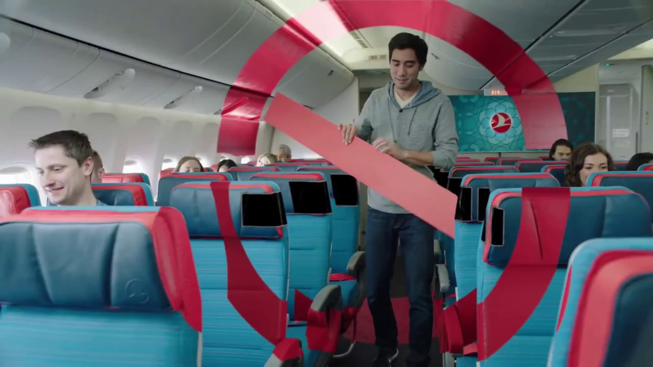 Turkish Airlines creates a magical safety instruction with Zack King