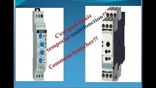 Comment utiliser un relais temporisé multifonction ?