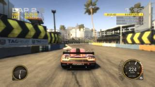 G R I D : HOT LAPTIME 58.69 AT LONG BEACH WITH KOENIGSEGG CCGT CAR (SP)