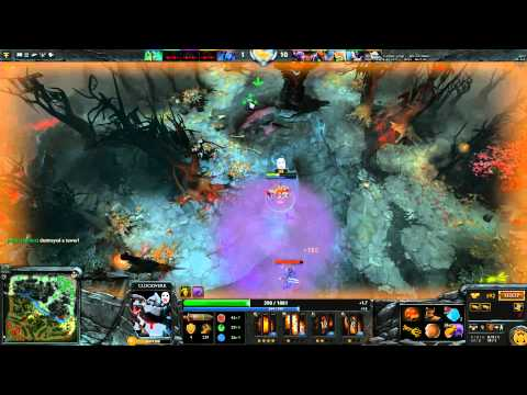 DOTA2 All pick 3k MMR  - 1 leaver then complete waste of time