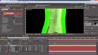 After Effects - Green Screen Tracking and 3D sets
