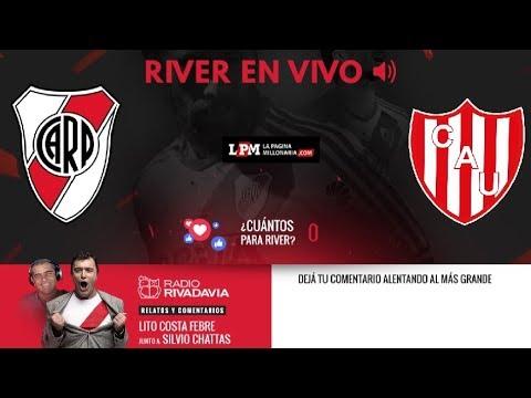 River vs. Unión - Superliga - EN VIVO - Relatos Lito Costa Febre