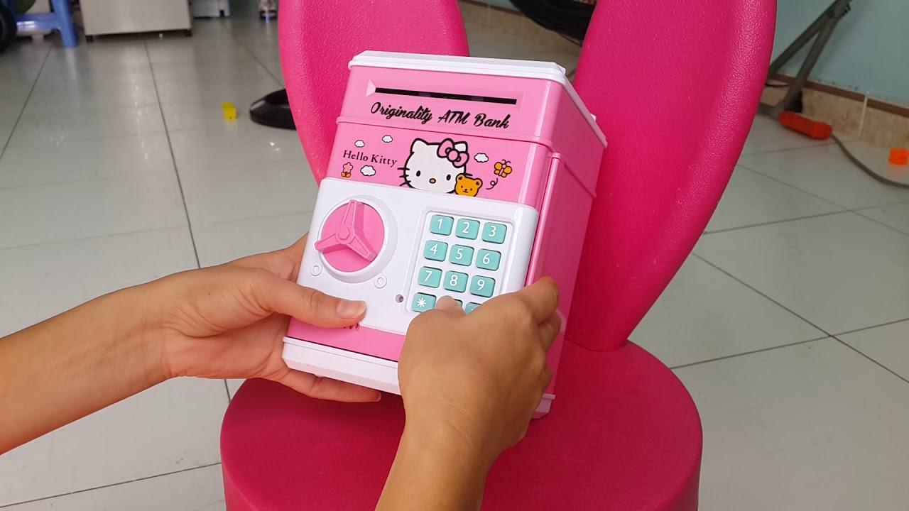 Giới thiệu và hướng dẫn cách đổi mật khẩu két sắt mini cho bé – Su Bi Channel – Mini safe for baby