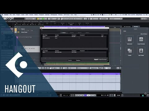 MIDI, MIDI Input Transformer, Quick Controls | Club Cubase with Greg Ondo