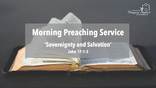 Sovereignty and Salvation - John 17:1-3