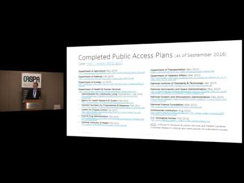 Keynote - Going Open: Access, Data, Science, and Beyond….