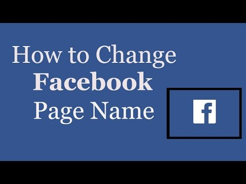 How to edit album name on fb page