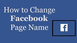 how to change facebook page name in 2 minutes whats trending now