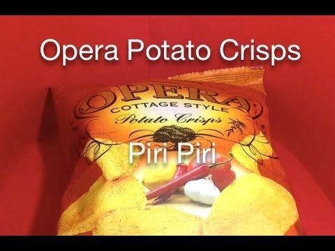 Opera Potato Crisps - Piri Piri