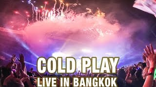 COLDPLAY LIVE IN BANGKOK, a head full of dreams,samsung s7 edge, iPhone 7plus