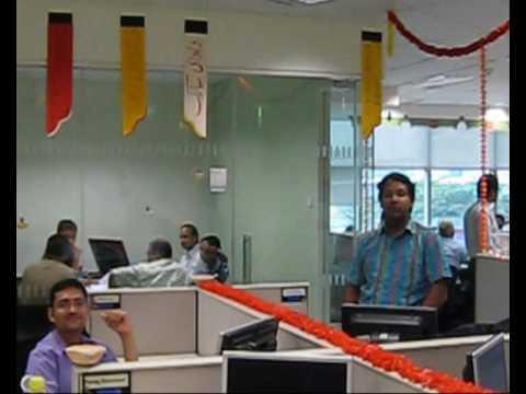 Diwali Celebration at Credit Suisse 2008