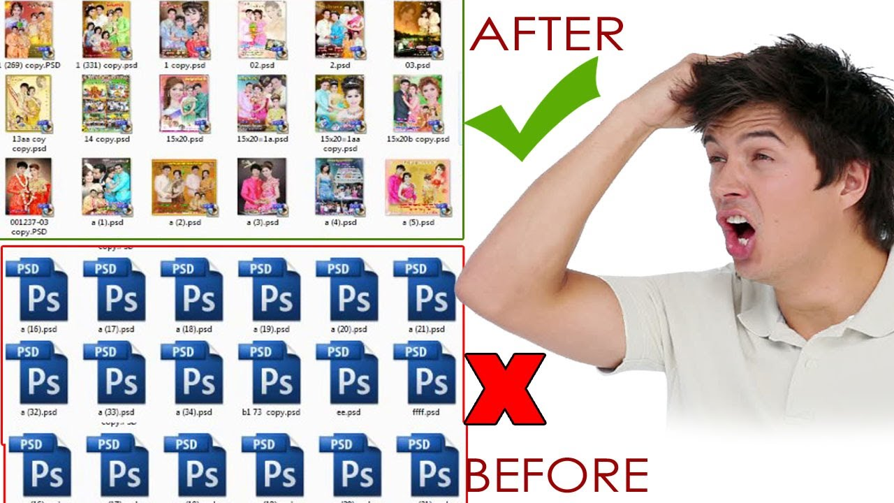 Howtoshow Photopsdthumbnails Viewpsdfiles