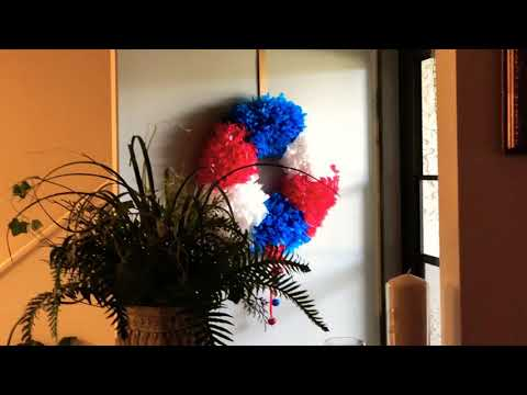 4th of July🇺🇸🇺🇸 Best DIY Door Wreath