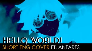 Cover images Hello,world! (short ver.) | Blood Blockade Battlefront Opening (English Cover by Antares)