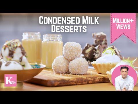 5 Quick Condensed Milk Desserts | Kunal Kapur Recipes