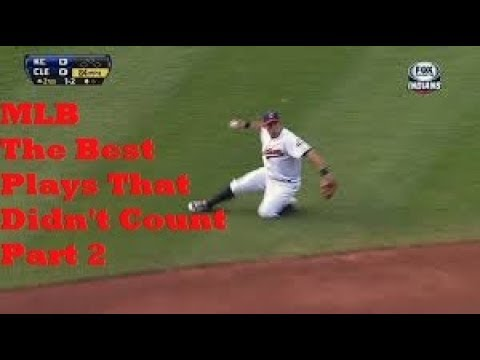 MLB Best Plays That Didn't Count Part 2