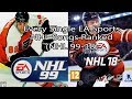 Every Single EA Sports NHL Song Ranked (NHL 99-18)