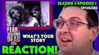 REACTION! Fear the Walking Dead Season 4 Episode 1 -