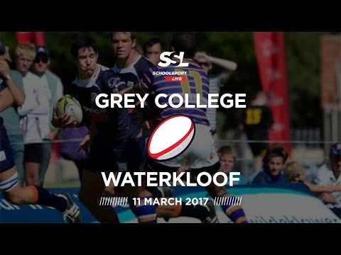 Grey College XV vs Waterkloof - 11 March 2017