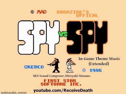 Spy vs Spy (NES) - In-Game Theme Music (Extended) OST