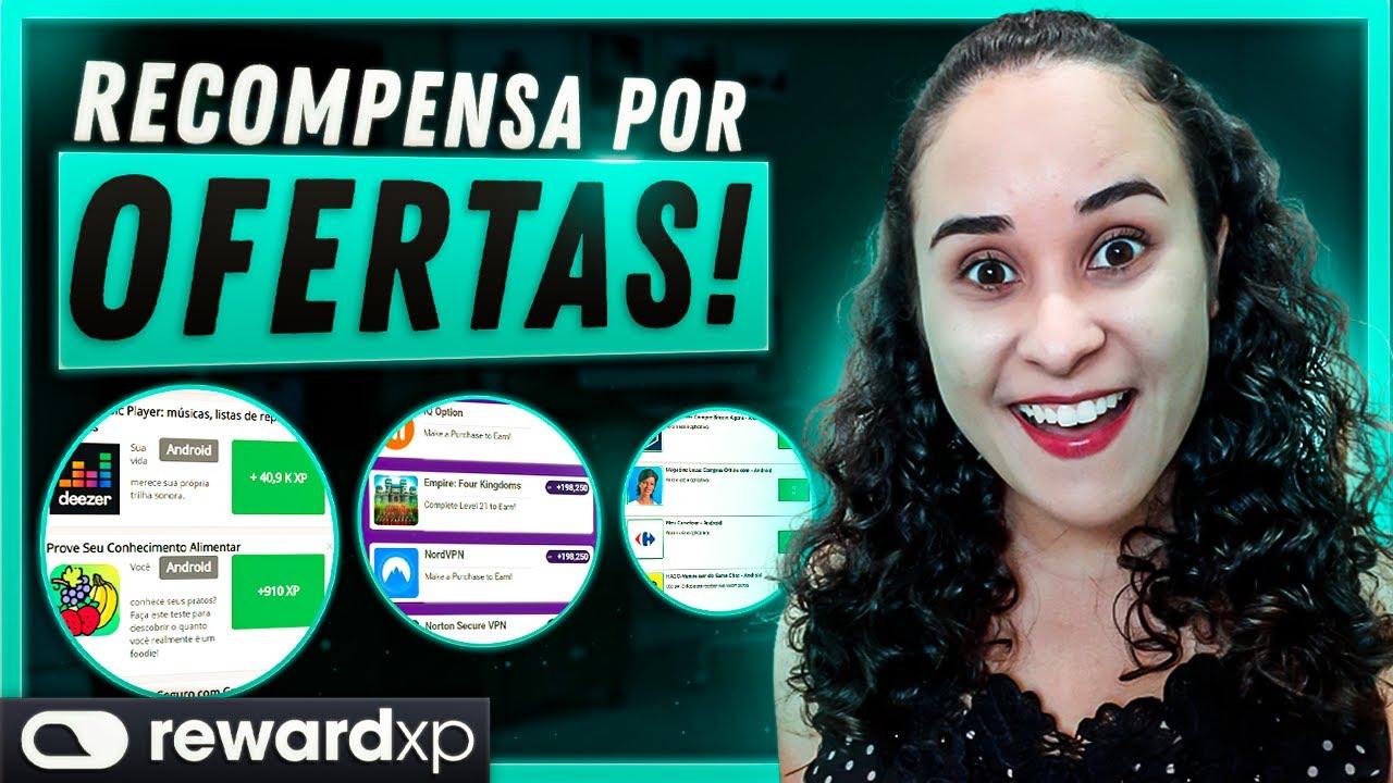 REWARDXP! COMO GANHAR DINHEIRO NA INTERNET FAZENDO TAREFAS   OFERTAS VALE A PENA?