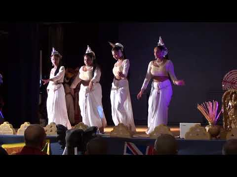 Welcome Dance - Arunalu Dance & Drumming Academy and Sri Lanka Hela Kala Foundation UK