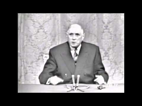 Charles de Gaulle, Elysée, 27 novembre 1967 (Québec) Partie 1