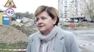 Капітальний ремонт вул. Миколайчука: 400 м вже прокладено, до кінця року прокладуть 900 м