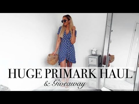 HUGE JUNE 18 PRIMARK HAUL & GIVEAWAY // Win £100 Primark Voucher!