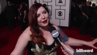 Mary Lambert on the GRAMMYs Red Carpet 2014