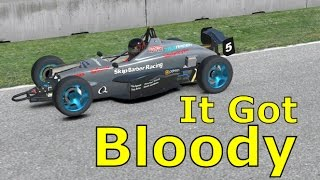 It Got Bloody | iRacing Gameplay | Best Sim Racing Game
