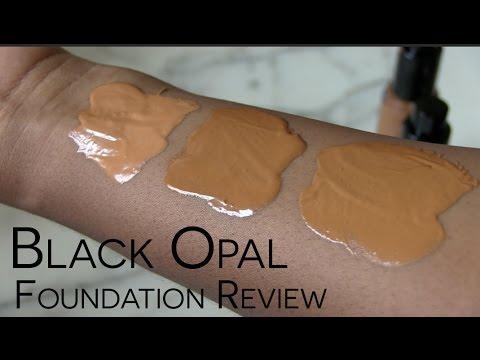 Review Demo Black Opal True Color Liquid Foundation Youtube