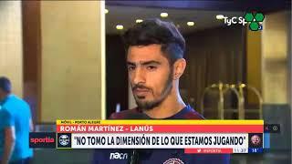 Román Martínez desafió a la hinchada de Gremio