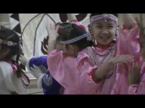 Закрытие Года языков коренных народов мира в Центре образования. Детский сад с руководителем.