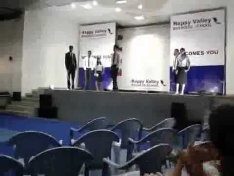 Fashion show contest at HAPPY VALLEY BUSINESS SCHOOL