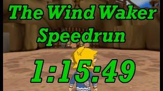 The Wind Waker Any% Speedrun in 1:15:49