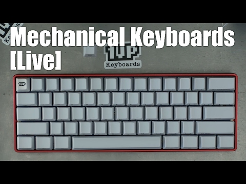 "[Livestream] How-to build a better ""pok3r"" 60% mechanical keyboard"