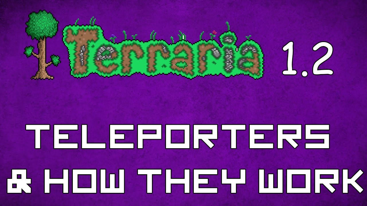 how to make teleporters in terraria