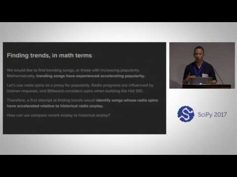 Hunting for Emerging Trends in Music Using Bayesian Inference | SciPy 2017 | Alex Companioni