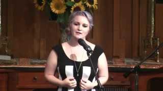 "Avary Corey Sings ""Oceans (Where Feet May Fail)""—Seattle Unity Church—08-24-2014"