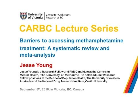 Barriers to accessing methamphetamine treatment: A systemati