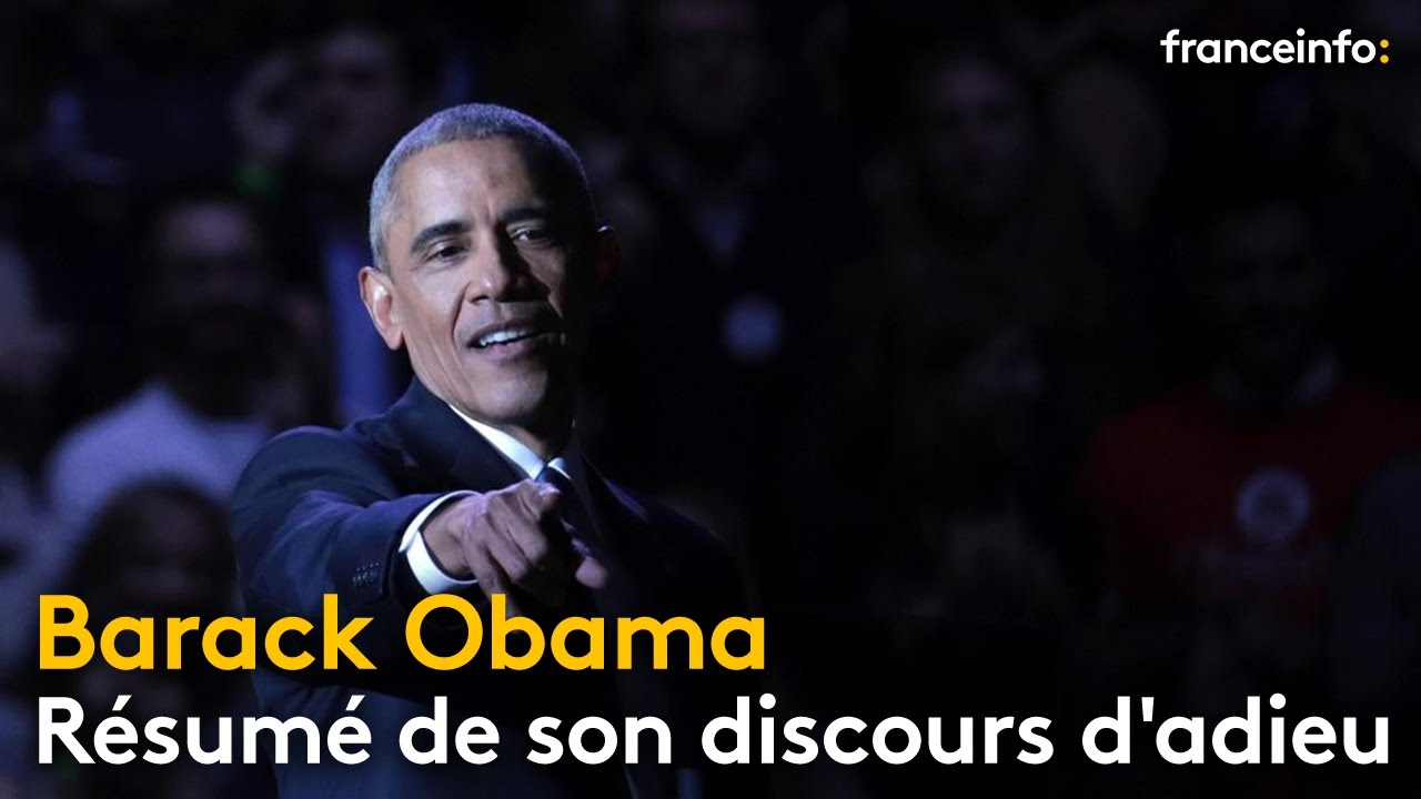 barack obama resume quot yes we did quot le discours d adieu de barack obama r 233 sum 233 20559