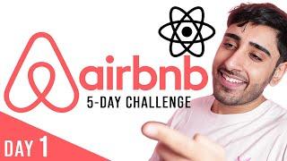 🔴 Airbnb REACT.JS Challenge | Day 1 (Next.js, Tailwind CSS, Calendar Picker, Mapbox)