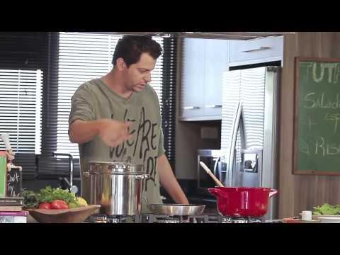 Tutano Risoto e Salada de Espinafre