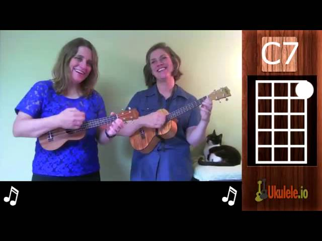 Ukulele ukulele chords c7 : How to Play Ukulele Chords: Moving From F to C7 - 21 Songs in 6 ...