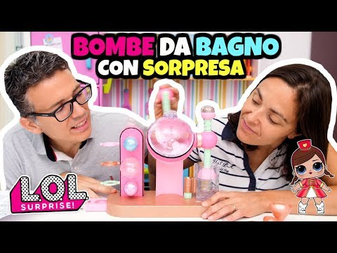 LOL SURPRISE Fizz Factory: BOMBE DA BAGNO DIY con sorpresa