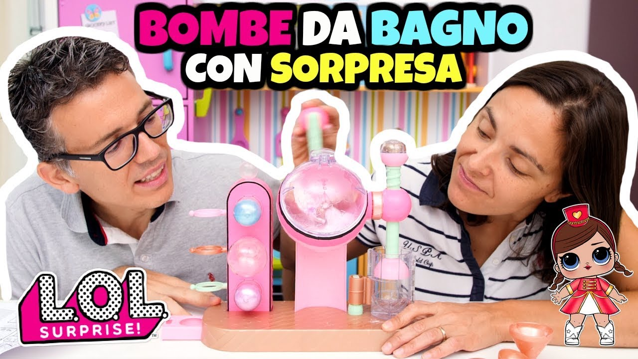 Lol surprise fizz factory bombe da bagno diy con sorpresa youtube - Bombe da bagno nere ...